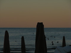 Evening (mauroPPP) Tags: beach evening italia spiaggia 2012 sera italiy portosangiorgio