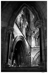 Saint Patrick's Cathedral - Dublin (Lanfranco_B) Tags: ireland bw dublin irish white black church saint st cathedral mary patrick bn virgin chiesa national patricks bianco nero blessed dublino irlanda cattedrale naomh eaglais pdraig rd