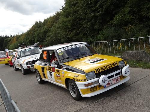 ADAC Rallye Deutschland 2012 376 Arena Panzerplatte - Historic Marathon
