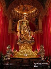 Saint Catherine (fajjenzu) Tags: sculpture art alexandria statue feast faith religion malta altar celebration virgin christianity spirituality martyr saintcatherine zurrieq saintcatherineofalexandria processionalcross saintcatherineofthewheel