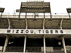 M I Z Z O U  T I G E R S (aar0on) Tags: stadium mizzou tigers sec mu columbiamo faurotfield