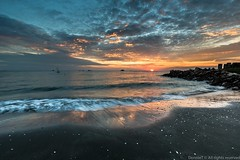 Jeram Sunset (MOG'S) Tags: blue sunset sea sun seascape beach golden seaside ray sundown horizon wave lee hour malaysia half bluehour kuala moment seashore klang goldenhour jeram seacoast selangor singh mogs remis beachphotography leefilter malaysialandscape pantairemis donniet pantaijeram dongphotography landscapemalaysia donglandscape dongseascape dongtj malaysialandscapespot