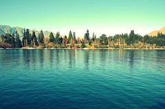 (Diego Echenique) Tags: new sun nature island amazing nikon d south north lakes diego places hills zealand glaciers sur 5100 nueva isla zelanda norte cruzado procesamiento echenique d5100