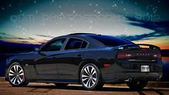 2012 Dodge Charger SRT-8 (BluAlien) Tags: auto black car sport photoshop poster nikon ps dodge 28 hemi tamron charger 2012 srt 392 d300 srt8 sadan 1750mm