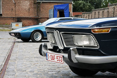 Unappreciated classics (Count Rushmore) Tags: pictures auto blue classic cars car club sedan photography 2000 factory lotus fair rushmore elite gathering bmw oldtimer syrup tac saloon oldtimers exchange berline neue count klasse 2012 limburg borgloon berlina stroopfabriek ruilbeurs terlaemen clubtreffen countrushmore stoomstroomfabriek