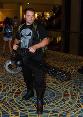 Punisher (Joseph Pereira) Tags: atlanta matt georgia joseph costume dragon cosplay convention friday 45s con dragoncon minigun 2012 atlantageorgia punisher pereira dragoncon2012 refghi august312012