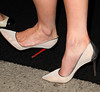Kate Beckinsale (shoe detail) Porsche Design's 40th Anniversary Event held at a private residence Los Angeles, California