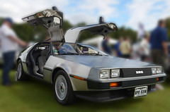 Delorean - Explore #453 7/9/12 (Whitto27) Tags: park classic car vintage steel retro explore vehicle delorean dmc brushed tatton tattonpark stainles bestartever whitto27