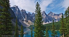 moraine lake (Rex Montalban) Tags: lake banff hdr moraine banffnationalpark hss rexmontalbanphotography sliderssunday