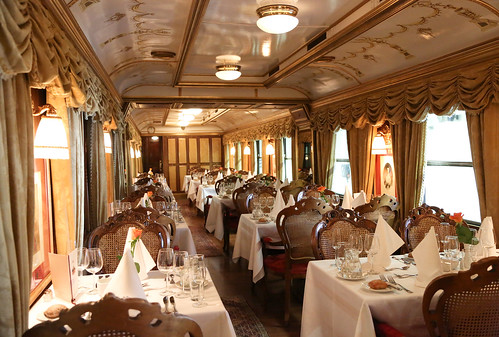 Majestic Imperator Luxury Train - Equipage