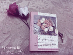 (Nourah Almajaishy) Tags: flowers notebook hearts details small memories autograph forgotten     nourah      almajaishy