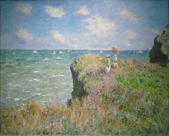 Monet, Cliff Walk at Pourville