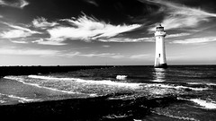 "Perch Rock Lighthouse (pjfchad) Tags: sea lighthouse nationalgeographic wirral newbrighton irishsea newbrightonlighthouse perchrocklighthouse discoveryphotos ""flickraward"""