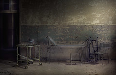 the experiment (andre govia.) Tags: urban never building abandoned buildings hospital photo bed shot photos killing decay room ghost experiment brain andre gas creepy spooky explore stop exploration asylum govia goviaurbexdecayabandoned treatmentoftuberculosissanitariumleprosariumcolseddown