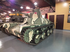 Type 95 9-9-2012 (clkayleib) Tags: tanks indianamilitarymuseum
