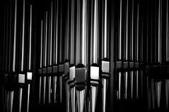 Pipework (palimpsest*) Tags: metal iso200 blackwhite iceland reykjavk hallgrmskirkja gujnsamelsson 18200mmf3556 focallength200mm nikond300 150secatf56