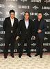 John Travolta, Benicio Del Toro, Oliver Stone Savages photocall held at The Mandarin Oriental London, England