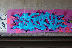 Stalk (The Braindead) Tags: street art minnesota wall train bench photography graffiti interesting paint flickr painted tracks minneapolis twin rail explore most beyond graff stalk tci the braindead cites flickrs thebraindead