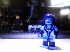 Halo 4 - Cortana Updates (MGF Customs/Reviews) Tags: lego infinity chief 4 halo master requiem cortana unsc promethean