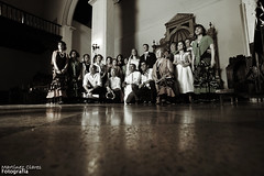 Reportaje (III) (Martínez Clares) Tags: boda iglesia grupo novios novia coro martínezclares