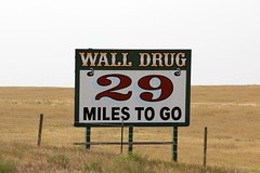 29 Miles to Go (the_mel) Tags: wall southdakota highway billboard advertisement drug 90 i90 walldrug