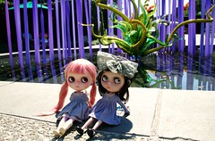 "Isabella & Wish enjoyed the day at the ""Chihuly Exhibit"""