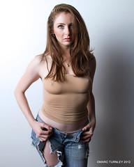 MARYN (Burlesque_Atlanta) Tags: tshirt jeans apg092712 femalesingular