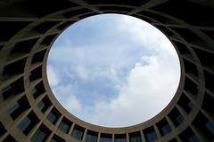 Skyshow (JTContinental) Tags: urban architecture circle washingtondc smithsonian frombelow thechallengefactory jtcontinental herowinner hirshorngalleryinterior