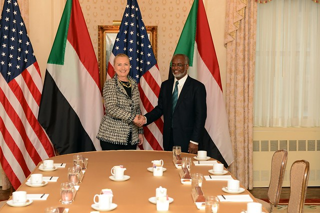 Secretary Clinton Meets With Sudan Foreign Minister Karti