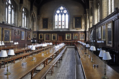 Hall (Chris Mullineux) Tags: food college dinner hall dininghall oxford setting oxforduniversity tablesetting balliol balliolcollege mullineux chrismullineux