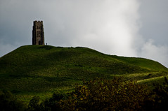 Glastonbury - Glastonbury Tor - 09-26-12 (mosley.brian) Tags: england tower unitedkingdom glastonbury tor glastonburytor thetor isleofavalon