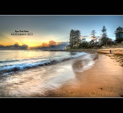 Sunrise at Dee Why Beach (Mark Ostrea (On and Off) - Catching up mode) Tags: sunrise sydney australia hdr hightide deewhybeach