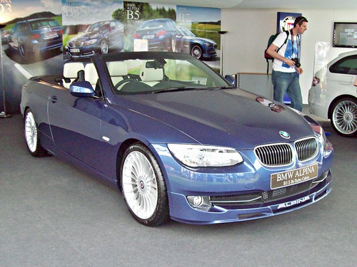 101 BMW Alpina B3S Bi Turbo Cabrio (2010-on