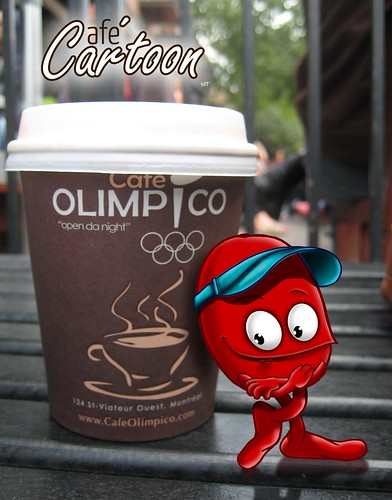 Cafe cartoon Olympics3