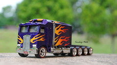 TR Custom (tamahaji) Tags: scale truck long flames hotwheels roller 164 ho custom stretched thunder sleeper diecast repaint scretch tamahaji malaydiecaster