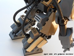 greren Zerstrer 10 (Agent WHO) Tags: army grey power sdr lego who military suit scifi agent mak ima mech krieger maschinen zerstrer grseren notwwiiinspace