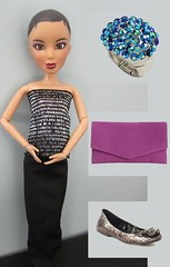 Project Project Runway Challenge #11 - It's Fashion Baby (katbaro) Tags: doll sewing projectrunway ppr dollclothes projectprojectrunway