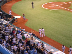 SAM_5556 (arctic_whirlwind) Tags: baseball tampabay baltimore rays orioles shields 2012 tropicanafield jamesshields tampabayrays franchiserecord 15strikeouts fifteenstrikeouts