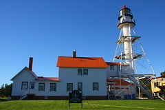 IMG_3663 (SweetMeow) Tags: lighthouse michigan lakesuperior whitefishpoint whitefishpointlighthouse cranefest graveyardofthegreatlakes