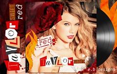 Taylor Swift - Red (Fanmade Album Cover) (Eren Bora Designs (E.B)) Tags: red coverart fanart albumcover cdcover singlecover fanmade taylorswift ebdesigns erenbora