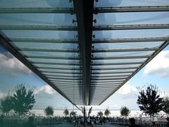 London Heathrow T4 (CruisAir) Tags: uk greatbritain trees roof reflection building london glass architecture airport europe unitedkingdom heathrow infrastructure gb baa faade lhr t4 terminal4 iphotooriginal