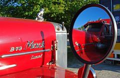 Mackinthemirror (gooneybird29) Tags: truck mirror spiegel camion oldtimer mack lkw