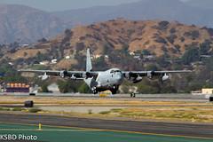 "United States Marine Corps VMGR-352 ""Raiders"" KC-130J 7924 (KSBD Photo) Tags: airport marine bur united corps burbank states bobhope raiders vmgr352 kbur kc130js"