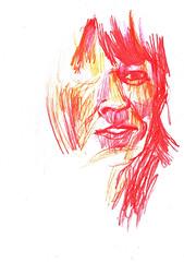 ERRORES (3) (GARGABLE) Tags: portrait sketch retrato drawings colores apuntes errores gargable angelbeltrn
