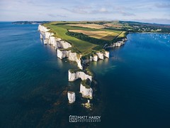Old Harry Rocks By Matt Hardy Photography (Matt Hardy photography (uk)) Tags: dorset old harry rocks jurassic coastline drone phantom 4 dji global kodakmatt matt hardy photography dorsetdrone aerial outdoor landscape coast shore beach stunning iconic natioanaltrust