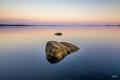 Glass lake (JaniOjalaFINLAND) Tags: wwwjaniojalacom jani ojala suomi finland glass lake glasslake longexposure ocean water sunset sunrise harmony quiet beautiful