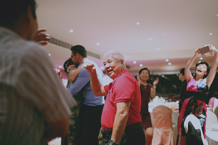 婚禮攝影-老人家跳舞