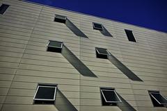20160828_DP0Q5437 (NAMARA EXPRESS) Tags: street building window wall shadow blue evening summer fine outdoor color foveonclassicblue toyonaka osaka japan foveon sigma dp0 quattro wide ultrawide superwide namaraexp