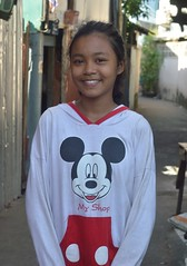 pretty girl in her mickey mouse shirt (the foreign photographer - ) Tags: pretty girl mickey mouse shirt khlong bang bua portraits bangkhen bangkok thailand nikon d3200