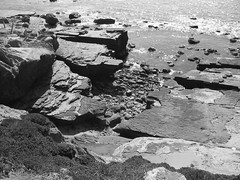 Cabrillo National Monument - Point Loma (lukedrich_photography) Tags: canon powershot a60 us usa northamerica america unitedstatesofamerica unitedstates  vereinigtestaaten    estadosunidos tatsunis   californie    california southerncalifornia sandiego pacific coast cabrillo nationalmonument pointloma cliff water rock